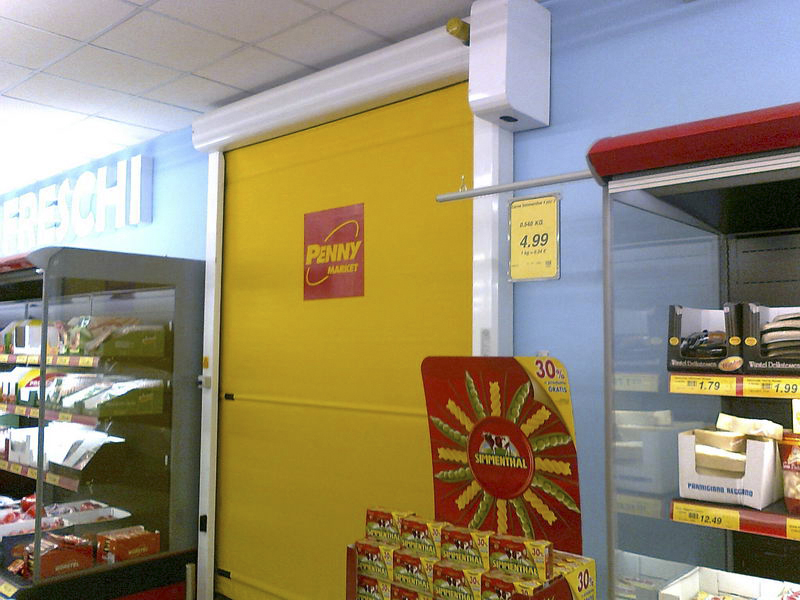 gallery rollup supermarket doors
